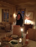 Dinner with Marie in Paris