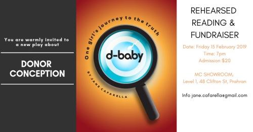 d-baby INVITATION TO REHEARSED READING FEB 15 2019